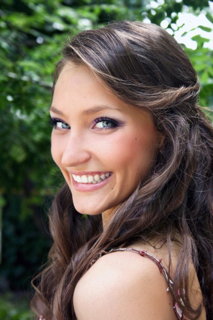 maquillage brune yeux bleus (2)